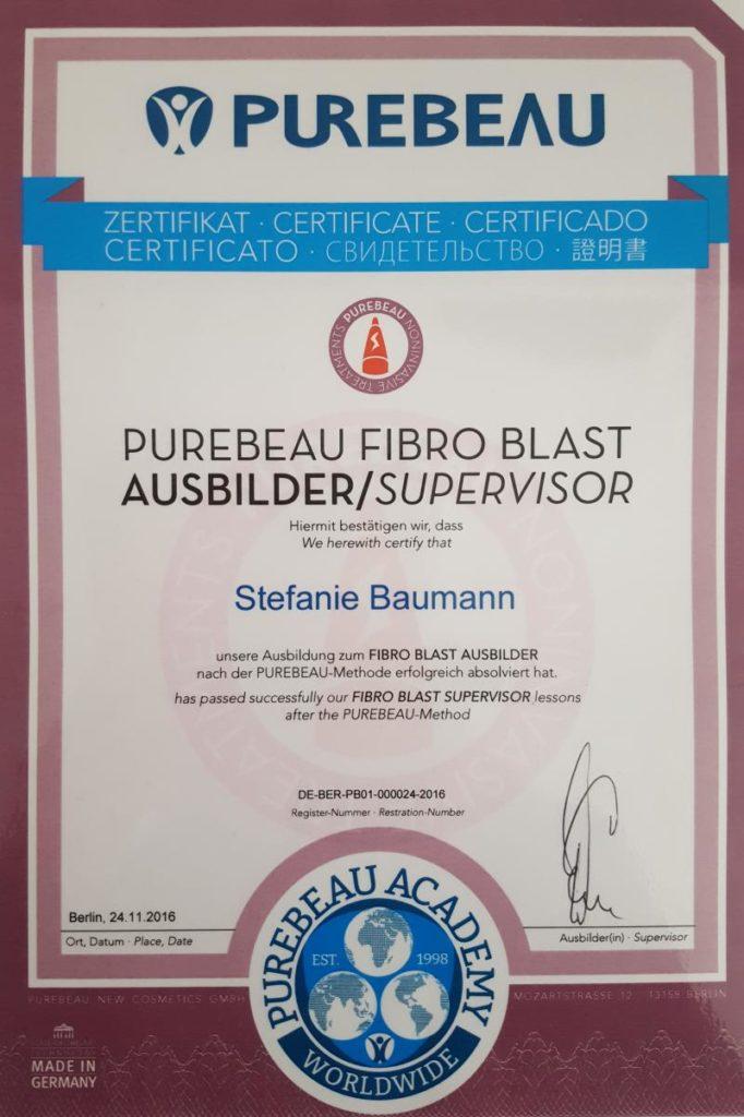 purebeau-fibro-blast-ausbilder-supervisor-stefanie-baumann